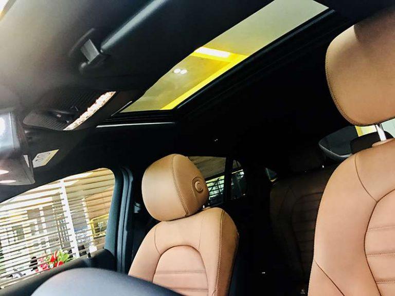 Mercedes GLC 300 hệ thống ghế sau