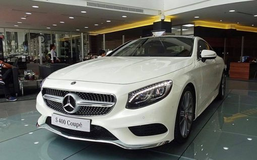 Mercedes S400 Coupe