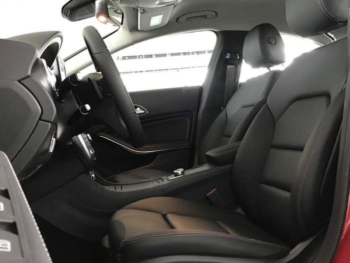 mercedes cla 200 hệ thống ghế trước