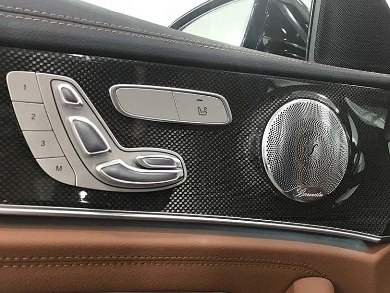 mercedes e300 hệ thống âm thanh