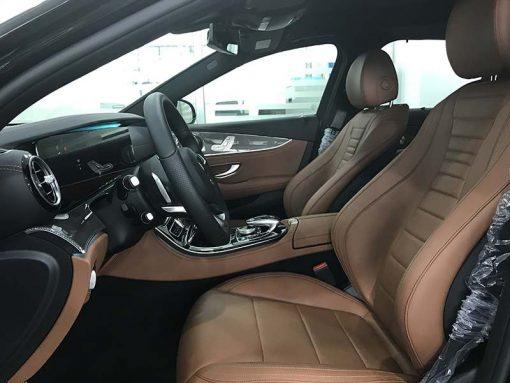 mercedes e300 hệ thống ghế trước