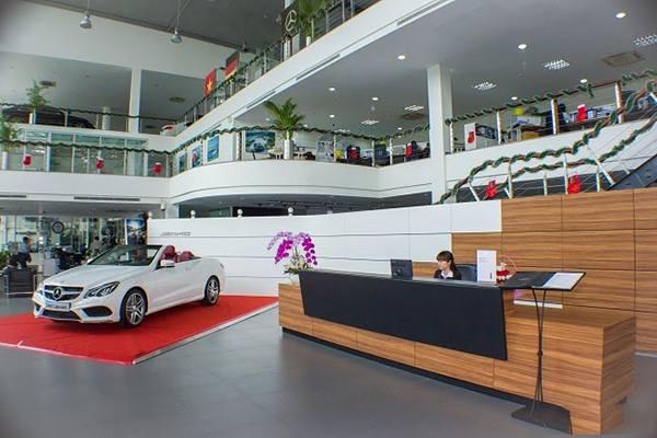 Mercedes Phú Mỹ Hưng Quận 7
