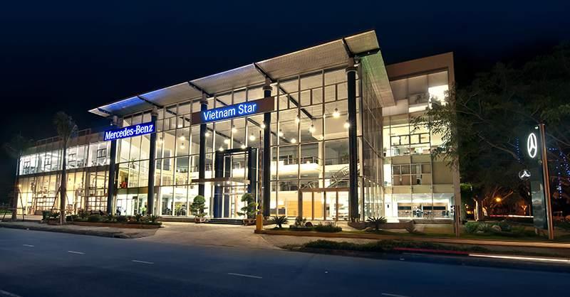 Showroom Mercedes Phú Mỹ Hưng Quận 7