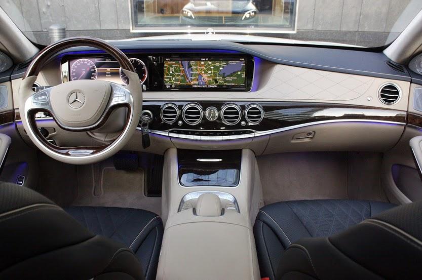 Khoan trước xe Mercedes S500L