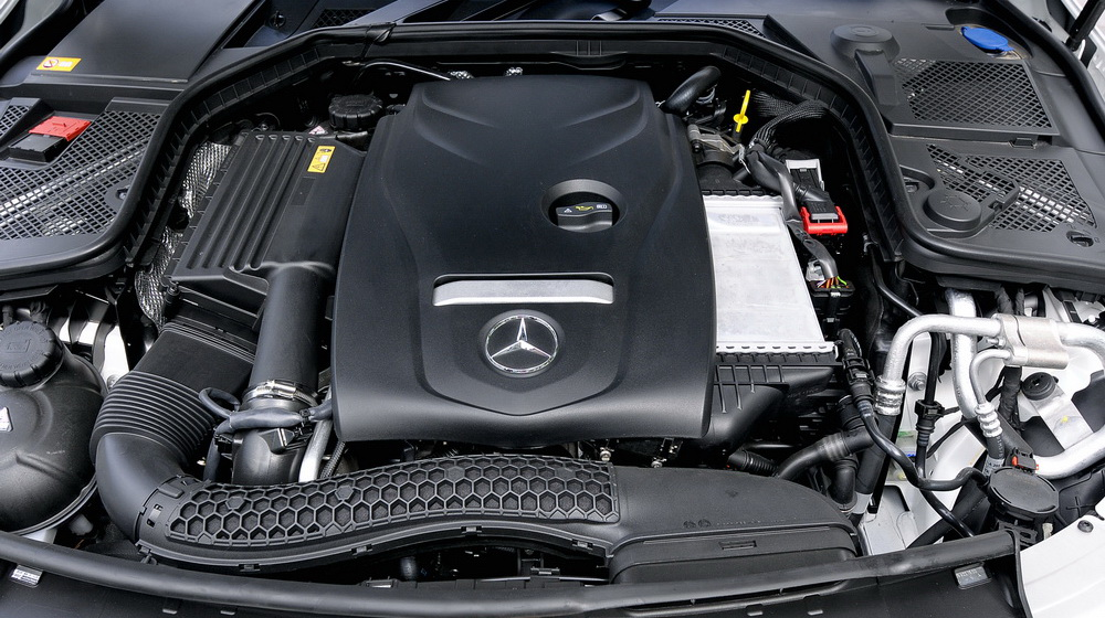 Động cơ Mercedes C250 Exclusive