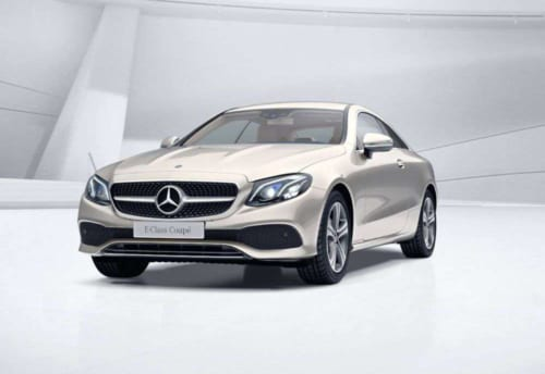 Mercedes E-Class Coupe - Luôn có xe lái thử tại Showroom