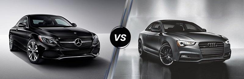Mercedes C-Class vs Audi A5