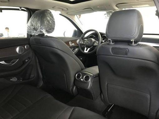 mercedes c200 exclusive - ghế sau