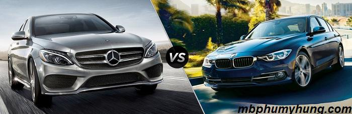 So Sánh Mercedes C300 AMG 2019 vs BMW 330i 2019