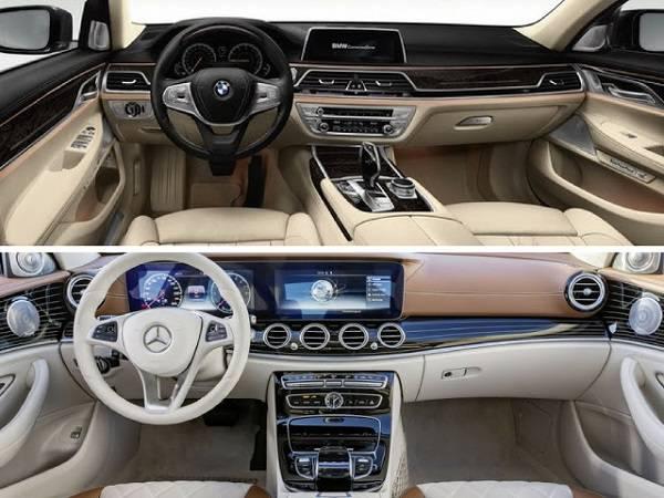 Đánh giá nội thất mercedes c300 va bmw 330i