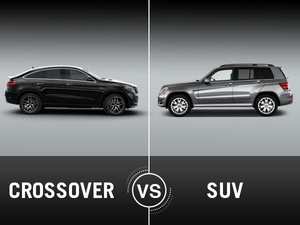 Điểm khác biệt giữa SUV và Crossover