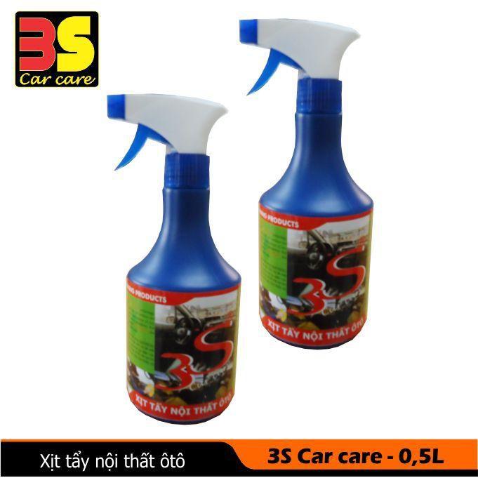 Nước vệ sinh nội thất ô tô 3s car care