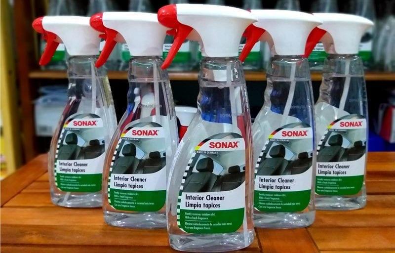 Dung dịch vệ sinh nội thất ô tô Sonax